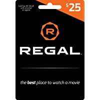 Deals on $25 Regal Gift Card Email Delivery