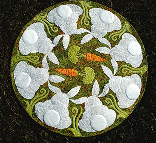 Honey Bunny Easter Rabbit JoAnn Hoffman Applique Wall Lap Quilt Pattern