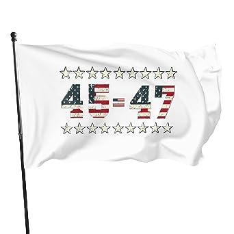 Trump 45 47 President 2024 47thflag 3x5 Feet Outdoor Banner Garden Villa Home Decoration Sign, Parade Party, Tour Guide