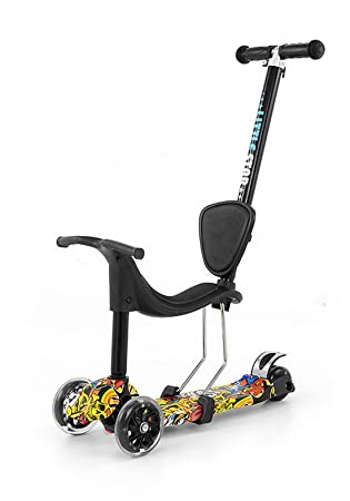 woodega - Patinete de Magic Scooter umbau Bar para tres ...
