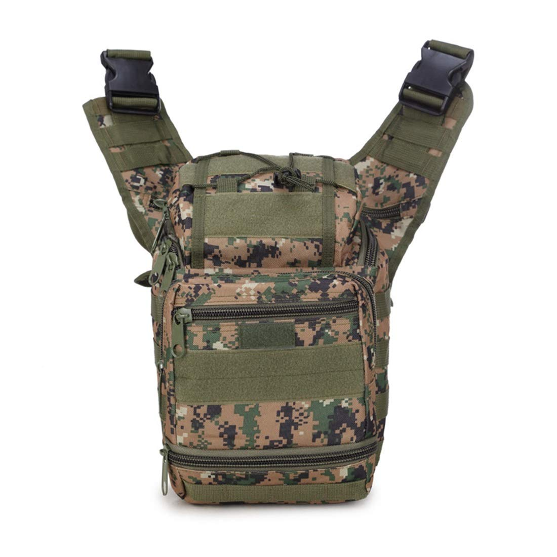 RABILTY Travel Fanny Bag Waist Pack Sling Pocket Super Lightweight for Travel Cashiers Box,Waist Pack Crossbody Bag for Men Boy Color : Jungle Digital