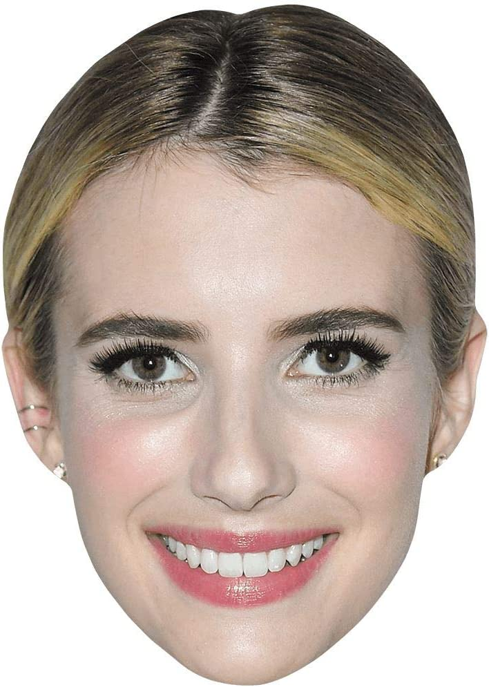 Card Face and Fancy Dress Mask Ashley Roberts Celebrity Mask