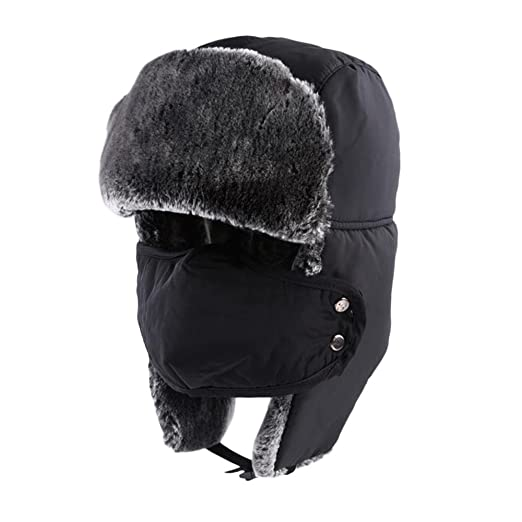 ecbe90baeca Image Unavailable. Image not available for. Color  ETCBUYS Winter Hat with Ear  Flaps ...