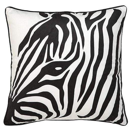 AINIF - Funda de cojín Decorativa, diseño de Cebra, Color ...