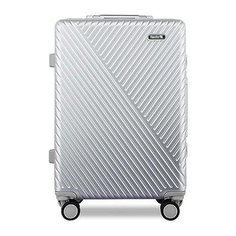 Yuan Portatrajes de Viaje Maleta Trolley - Poliéster/PC, TSA Cerradura con contraseña de