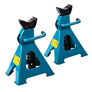 Silverline 763620 Axle Stand 3 Tonne - Set of 2