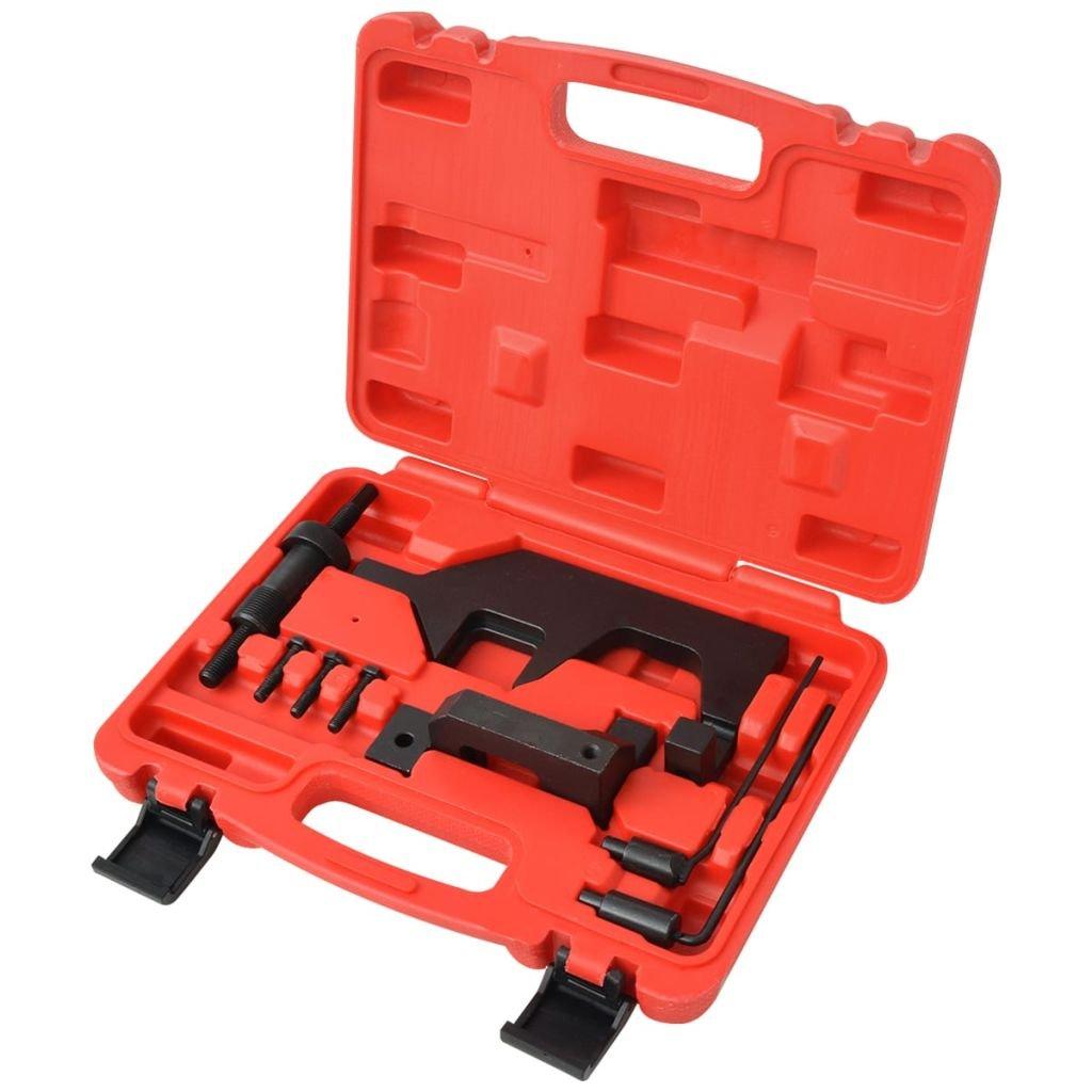 vidaXL Kit de 8 pcs d'Outils de Calage de Moteur Voitures Vé hicule Garage