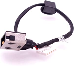 Deal4GO DC Power Jack Cable Harness Replacement for Lenovo Ideapad 300-15ISK 300-15IBR 300-14IBR 300-14ISK 300-17ISK 500-15ACZ 500-15ISK DC30100LF00 DC30100LG00