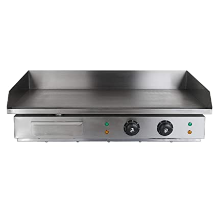 Iglobalbuy Parrilla eléctrica plancha gastronomía (4400W ...