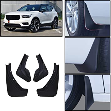 MIDOON 4Pcs/ Car Mud Flaps Mudguard Splash Guards Fender for Volvo XC40 2017 2018 2019/  Mudflap