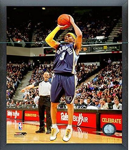 official photos 2e13d b7fd8 Amazon.com : Allen Iverson Memphis Grizzlies Action Photo ...