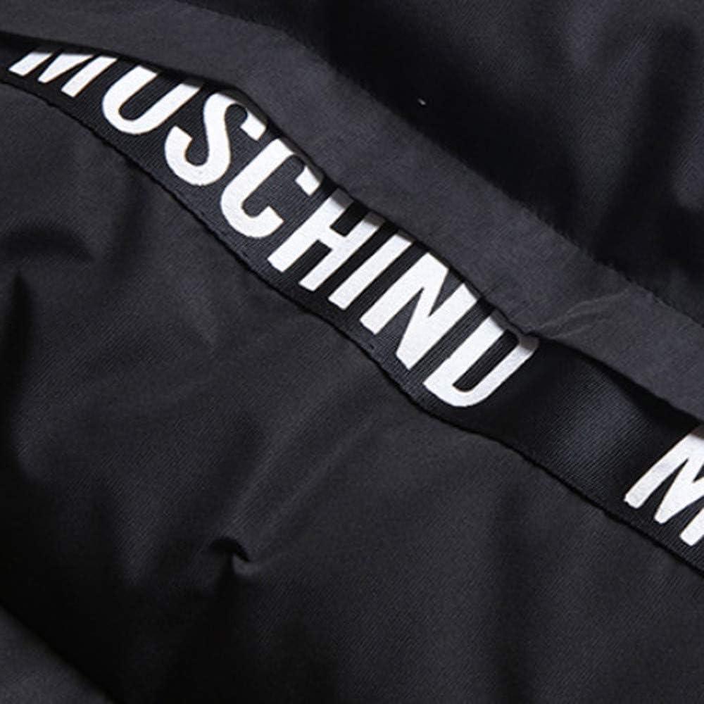 Realdo Mens Casual Cotton Blend Jacket Winter Zipper Pocket Thick Coat Outwear
