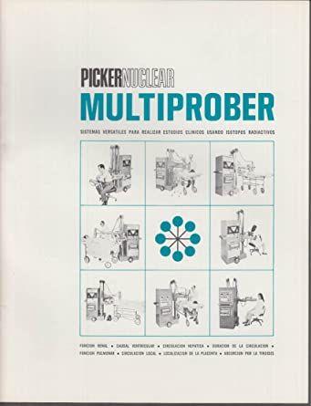 Picker Nuclear Multiprober sales brochure in Spanish 1967 at Amazons Entertainment Collectibles Store