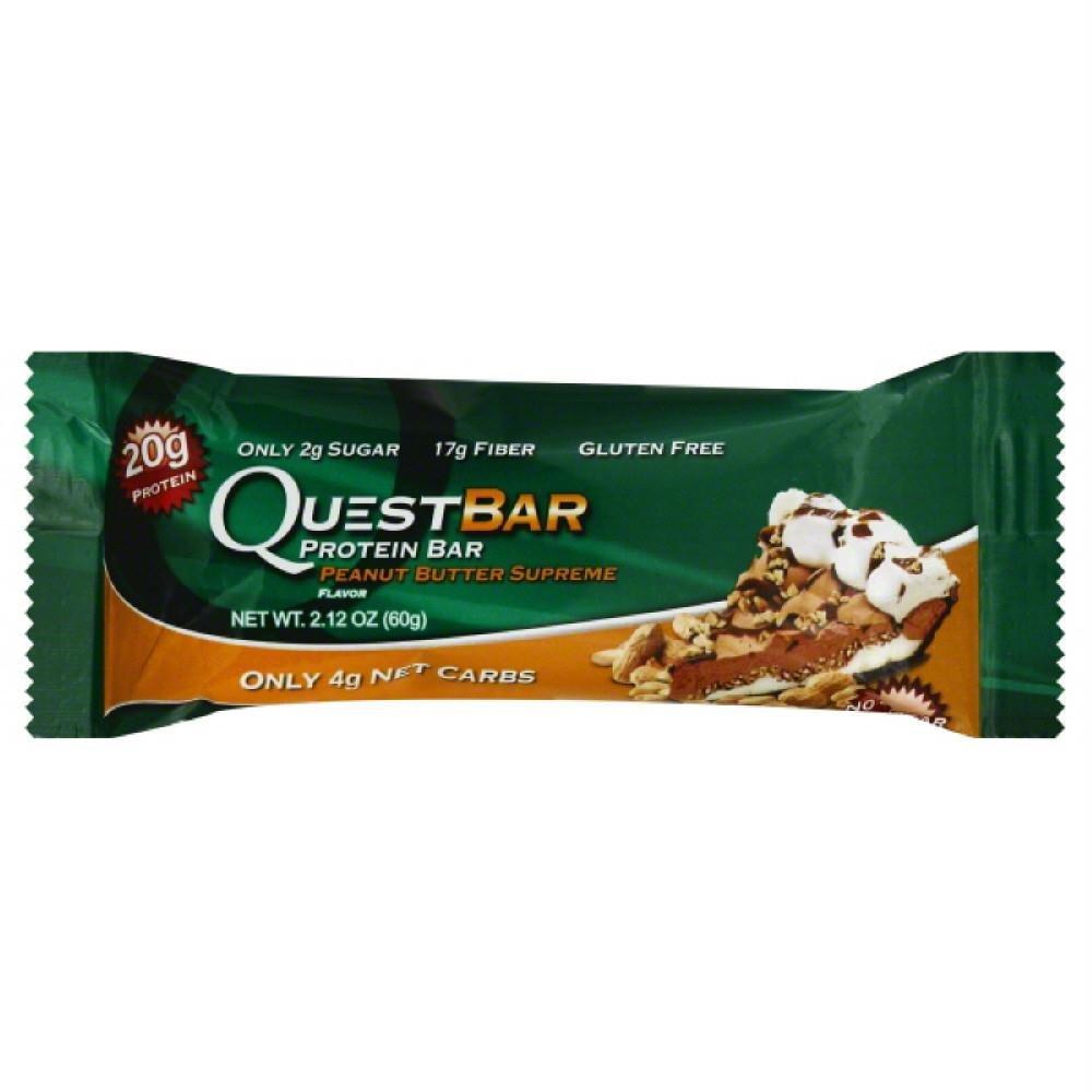 Quest Nutrition Peanut Butter Supreme Bar, 12 Count
