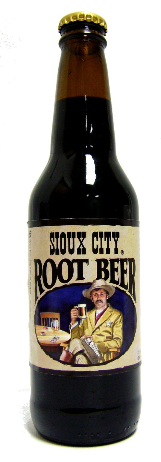 Sioux City Root Beer 12 Pack by Orca Beverage