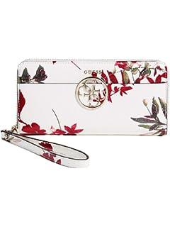 Amazon.com  GUESS Women s Harper Zip Around Wallet Clutch Bag ... f38b584c51647