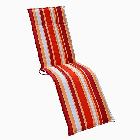 HVI GENF A821-2 Cojines para sillones de jardín, Color Rojo ...
