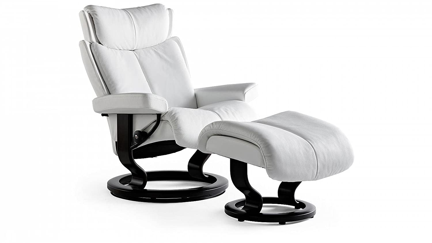 Stressless Magic Sessel Mit Hocker S Weiss Gunstig Kaufen