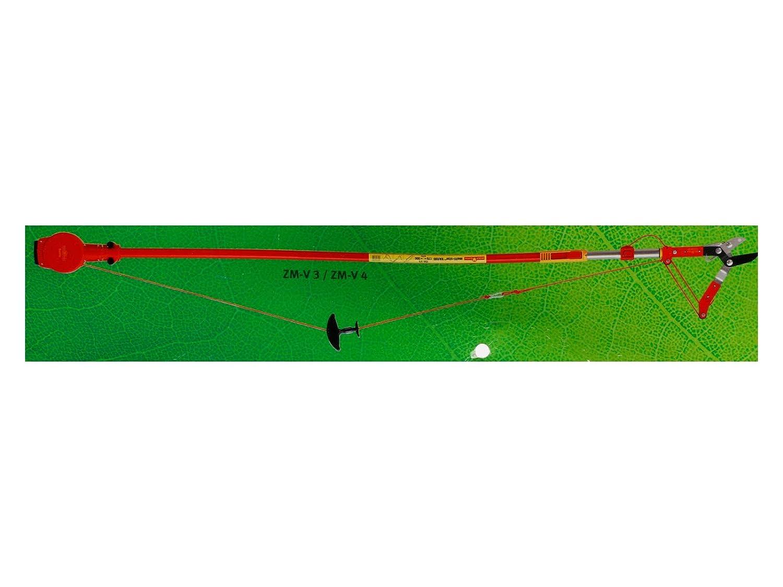 WOLF Garten 73AZA001650 Seilfix ZS-M Rot 37x24x4,5 cm