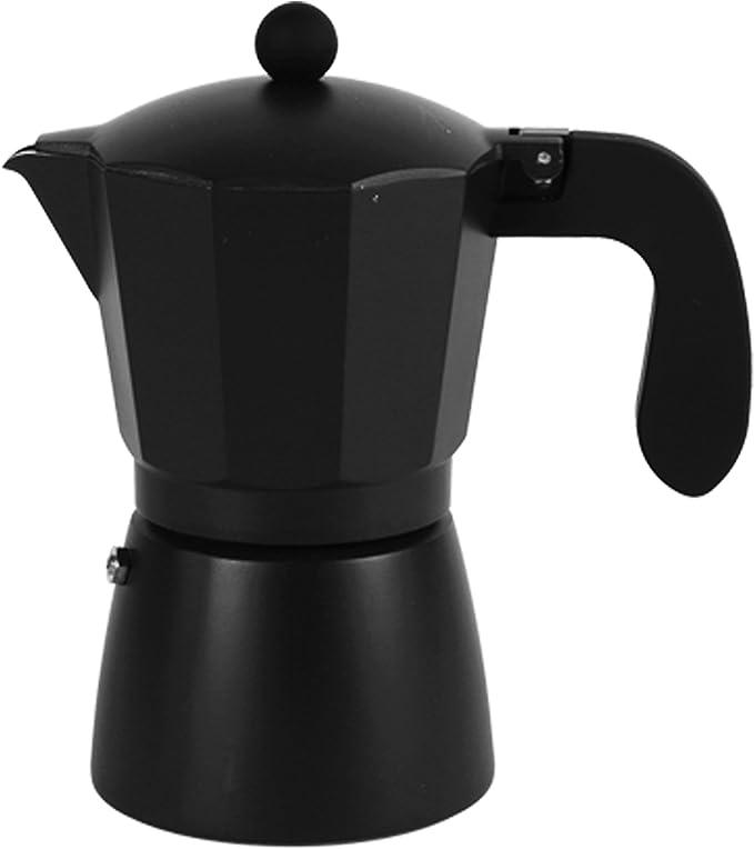San Ignacio Cafetera 6T Soft Touch Darkblack Negro, Aluminio ...