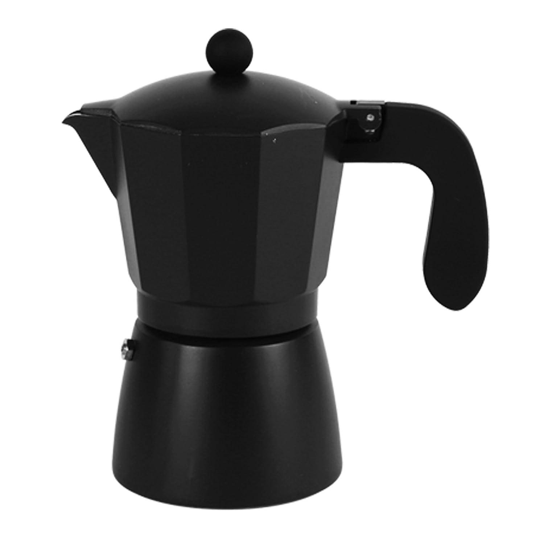 San Ignacio Espressokocher 6T Soft Touch darkblack schwarz