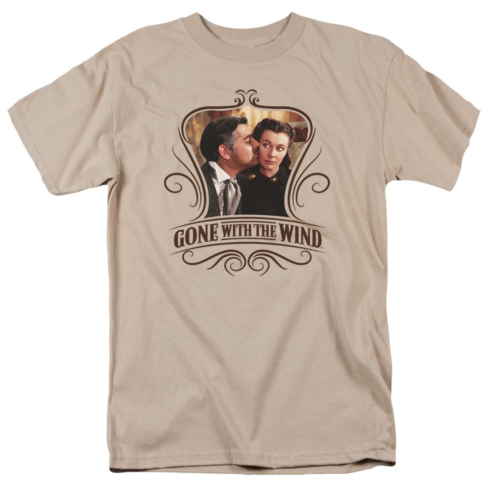 Trevco Men's Gone with The Wind Greatest Romance Heather Adult T-Shirt