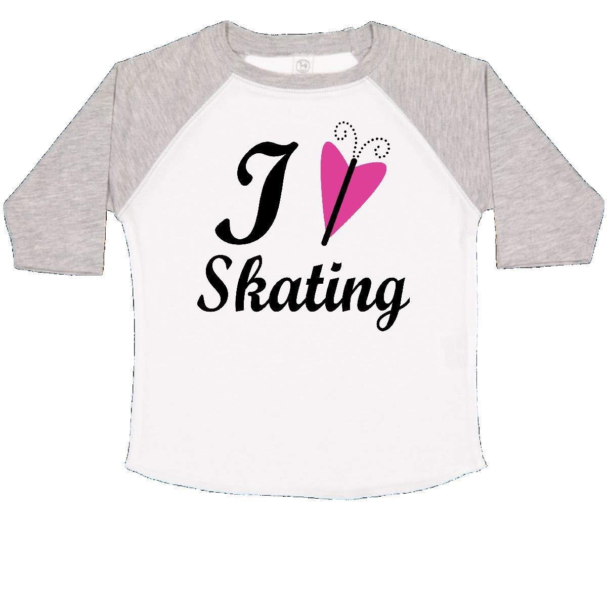 inktastic I Love Skating Toddler T-Shirt