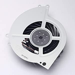 DEVMO Internal Cooling Cooler Fan Compatible with Sony Playstation 4 PS4 CUH-1200 CUH-12XX CUH-1200AB01 1200AB02 1215A 1215B Series KSB0912HE Fan Note:This Item can not fit PS4 CUH-10XXA -11XXA Series