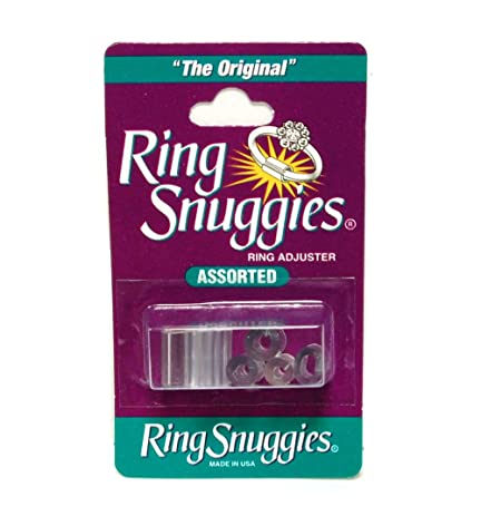 Amazoncom Ring Snuggies Ring Sizer or Assorted Sizes Adjuster