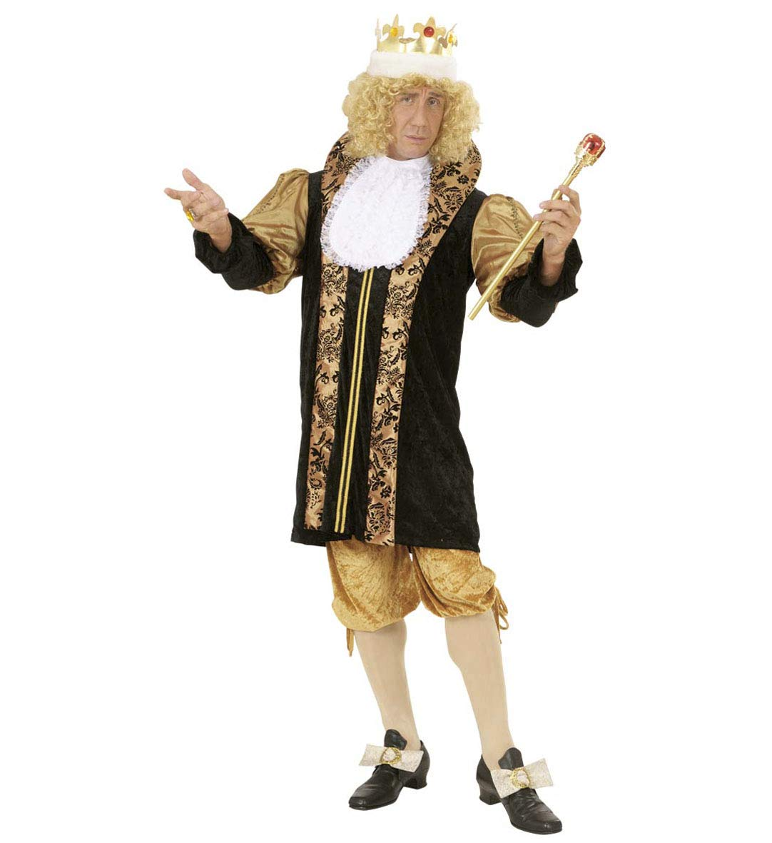 Partypackage Mens Medieval King Costume Fancy Dress Medium 4042  Chest
