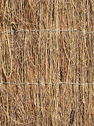 Canisse en broussaille - 4m x 1.5m (Épaisse) Primrose