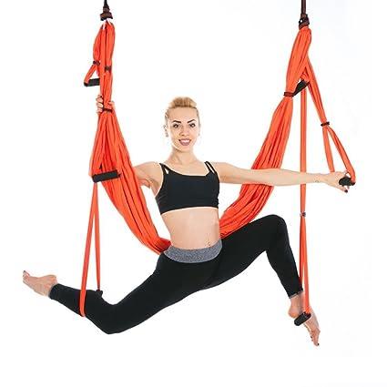 Amazon.com: UEB Flying Swing Anti-Gravity Yoga Hammock ...