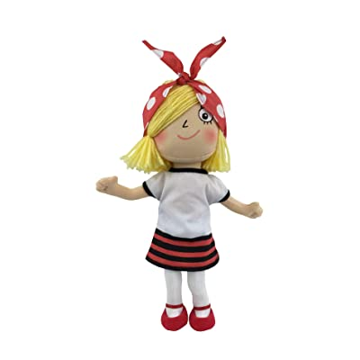 MerryMakers Rosie Revere, Engineer Soft Doll, 11-Inch, from Andrea Beaty's Rosie Revere, Engineer STEM Book Series: Toys & Games