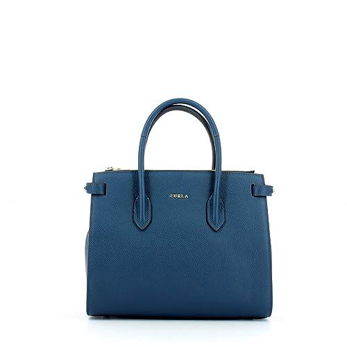 Amazon Furla Size De Bolso Mujer Talla Azul Mano Talla es Un wqgFOwnz