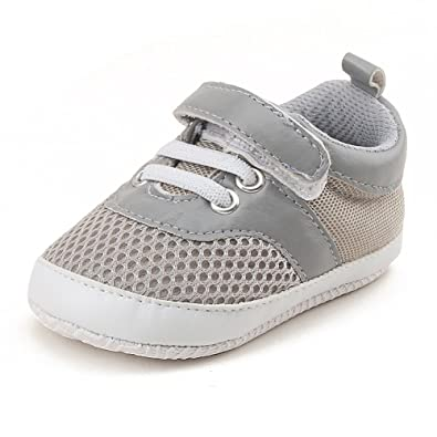18e98305e278c OOSAKU Baby Breathable Mesh Shoes Hook & Loop Sneakers.