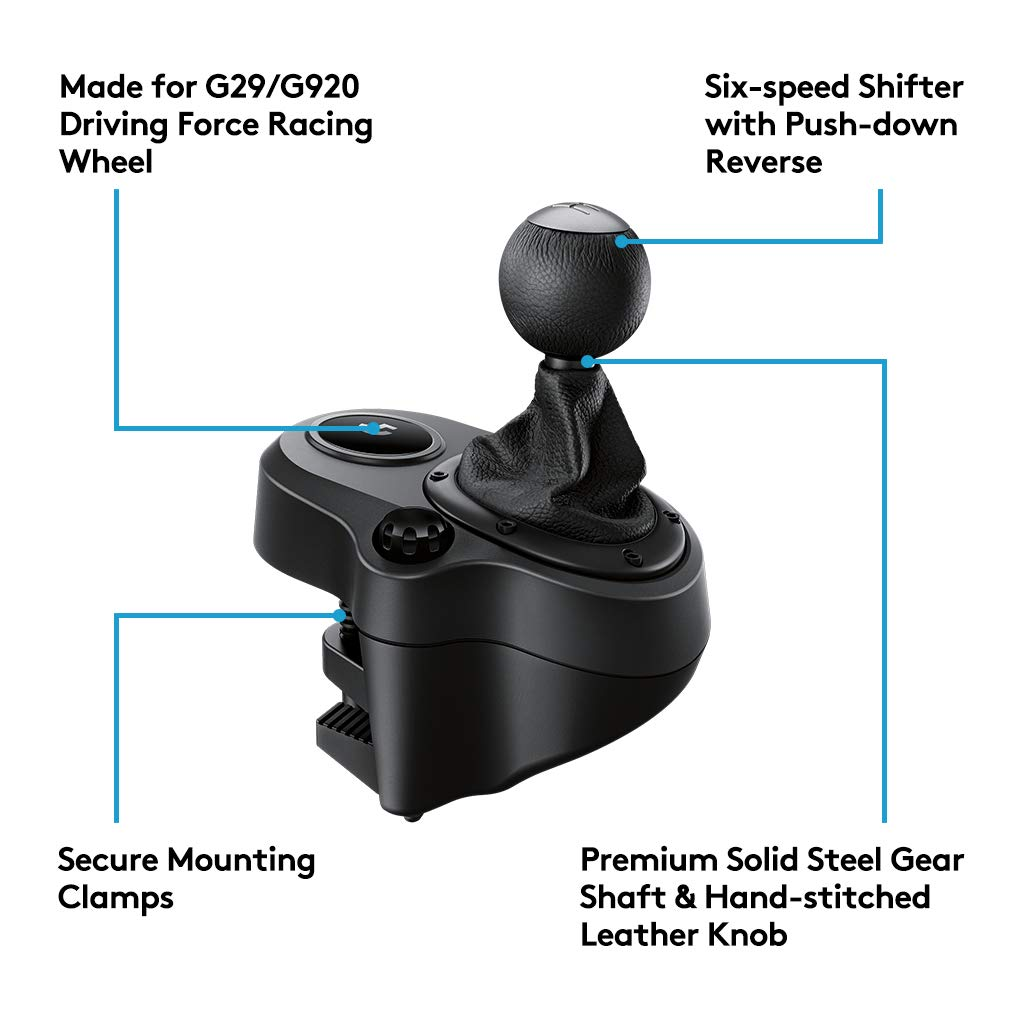 05fb632a551 Amazon.in: Buy Logitech G Driving Force Shifter G Driving Force Shifter  Joystick Online at Low Prices in India | Logitech Reviews & Ratings