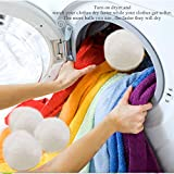 Yazer Wool Dryer Balls, 10 - Pieces, White