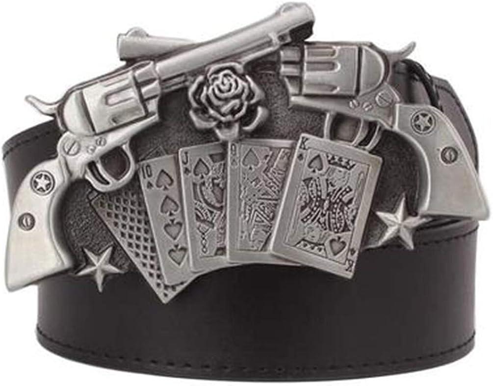 Cool Mens Belt Punk Hip Hop Decorative Gift Belts For Men Rock