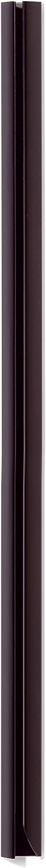 Confezione da 25 Pezzi Capacit/à 40-100 Fogli Lunghezza 210 mm Dorsino Rilegafogli Durable 291201 Larghezza 13 mm Nero Dorso 12 mm