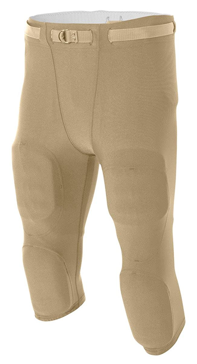 A4 Flyless Football Pant XXXX-Large White