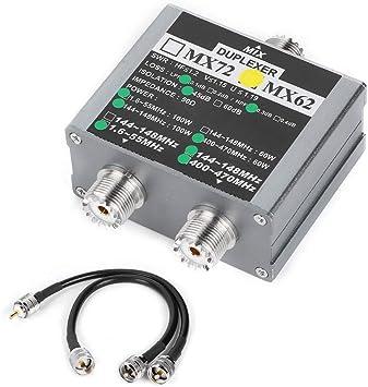 Combinador de antena VHF/UHF, MX62 Combinador de antena ...