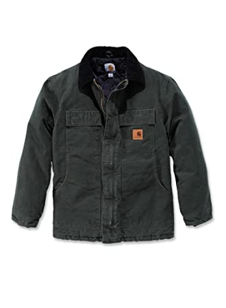 Carhartt Mens Sandstone Traditional Work Jacket Brown, Camel,S,M,L,