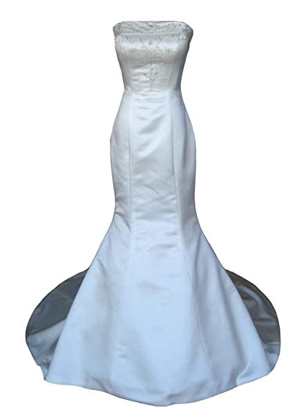 Diseño de sirena trajes de novia de cola de e instrucciones para hacer vestidos de novia de boda: Amazon.es: Ropa y accesorios