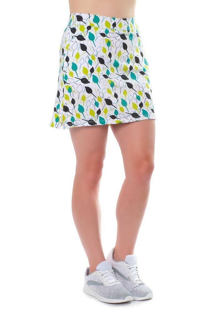 Haute Shot Micro-Poly Skort for Travel, Everyday, Golf, ect, Slimming fit, Breathable Comfort. by Haute Shot Golf (Image #4)