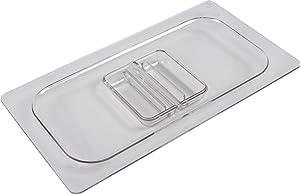 San Jamar CI7113L Chill-It 1/3 Standard Food Pan Lid, Clear