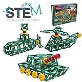 Klikko Toys Tanks Model Building Set - 225 pieces