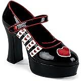Funtasma QUEEN-55 - chaussures carnaval costume Halloween
