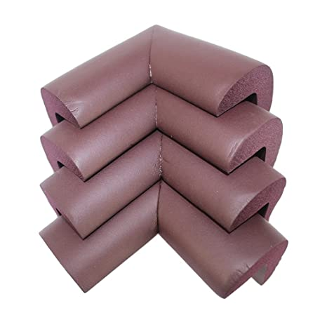 Baby Safety Corner Cushions Soft Table Protectors Desk Edge Guards Cover UK