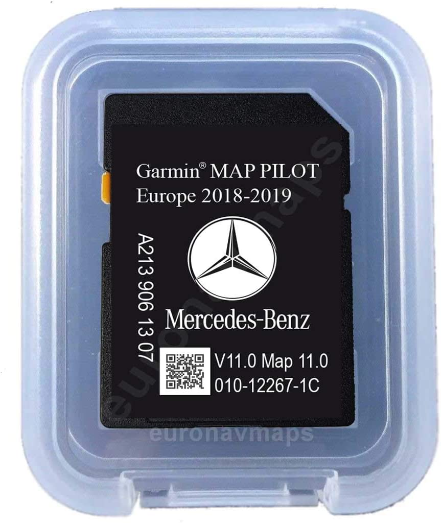 Tarjeta SD Mercedes Garmin Map Pilot Europe 2018 - STAR2 - A2139063605: Amazon.es: Electrónica
