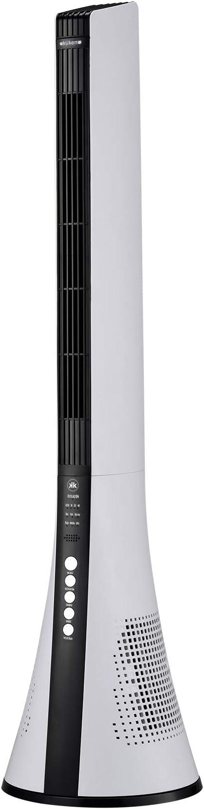Alfa Kuken Ventilador de Columna Smart 40W 3 Velocidades 3 Modos ...